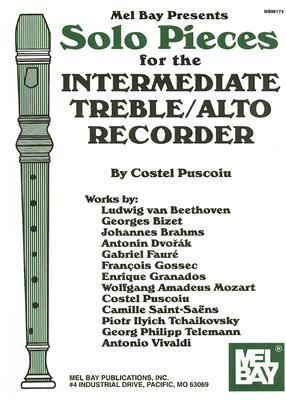 Solo Pieces for the Intermediate Treble/Alto Recorder By Puscoiu, Costel